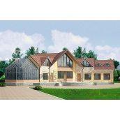 Проект дерев'яного готелю 534,4 м2