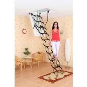 Чердачная лестница Oman Ножничная Termo 70x100 см