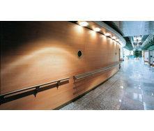 Перфорована шпонована панель з MDF Decor Acoustic 30/2 2400*576*17 мм зебрано
