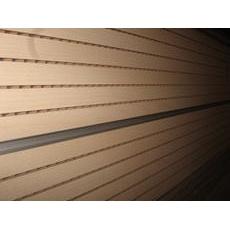 Перфорована шпонована панель з MDF Decor Acoustic 30/2 2400*576*17 мм орех