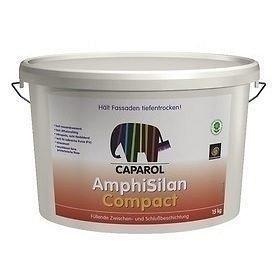 Краска фасадная силиконовая Caparol AmphiSilan Compact 15 кг белая
