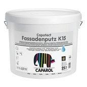 Штукатурка декоративная Caparol Capatect Fassadenputz K 15 25 кг белая