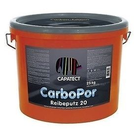 Штукатурка дисперсионная Caparol Capatect CarboPor Strukturputz K 20 белая
