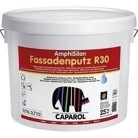 Штукатурка дисперсионная Caparol AmphiSilan Fassadenputz R 30 25 кг белая