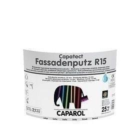 Штукатурка декоративная Caparol Capatect Fassadenputz R 15 25 кг белая