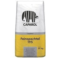 Штукатурка минеральная Caparol Capatect-Feinspachtel 195 25 кг белая