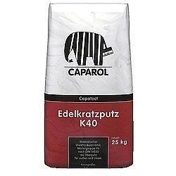 Минеральная штукатурка Caparol Capatect Mineralputz K 40 25 кг белая