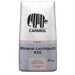 Штукатурка минеральная Caparol Capatect Mineral-Leichtputz R 30 25 кг белая