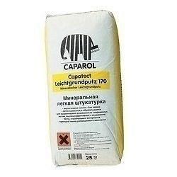 Штукатурка минеральная Caparol Capatect Leichtgrundputz 170 25 кг белая