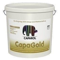 Краска Caparol CapaGold 5 л золотая