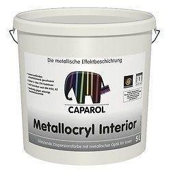 Краска дисперсионная Caparol Capadecor Metallocryl Interior 5 л серебряный металлик