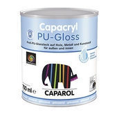 Эмаль Capacryl PU-Satin 0,375 л белый