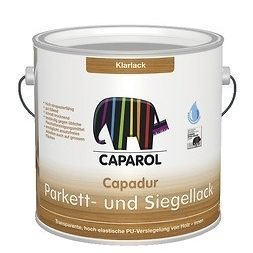 Лак Caparol Capadur Parkett- und SiegelLack 10 л прозрачный