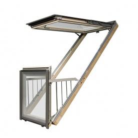 Вікно-балкон FAKRO FGH-V P2 Galeria 94х255 см