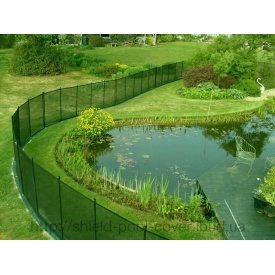 Огорожа для ставка і штучної водойми Shield Removable Fencing 120 см