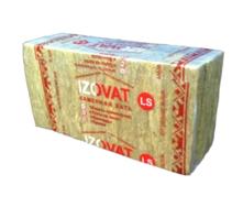 Минеральная вата IZOVAT LS 1000*600*100 мм