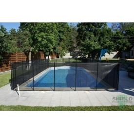 Дитячий паркан для басейну з вініловим покриттям Shield
