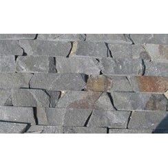 Камень андезит Лапша 6 см серый