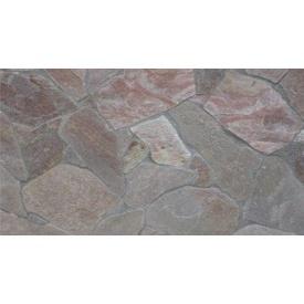 Натуральный камень кварцит 2 см серо-красный