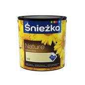 Матовая латексная краска Sniezka Nature Colour Latex 2,5 л белая
