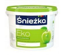 Акриловая эмульсия Sniezka Eko 7 кг снежно-белая