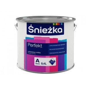 Латексная краска Sniezka Perfect Latex - Baza 10 л белая