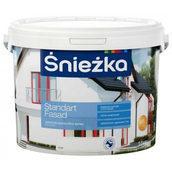 Акриловая краска Sniezka Standart fasad 20 кг белая