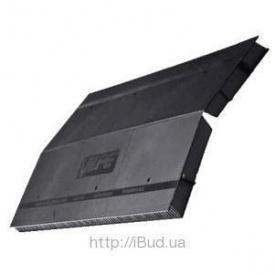 Коньковий вентиль VILPE Airidge Felt 590х325х30 мм чорний