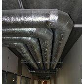 Утеплення вентиляційного обладнання скловатою