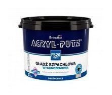 Финишная шпаклевочная гладь Sniezka Acryl-putz fs 20 finisz 17 кг белоснежная