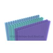 Стільниковий полікарбонат Marlon ST двостінний 4х6000х2100 мм синій