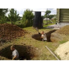 Ручные землеройные работы