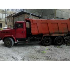 Доставка вантажів самоскидами