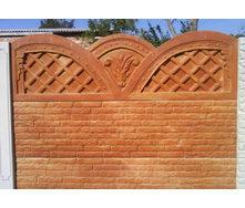 Забор декоративный железобетонный №9 Овен 1,5х2 м