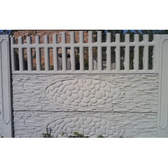 Забор декоративный железобетонный №3 Прозрачный 1,5х2 м