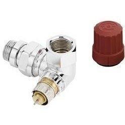 Кутовий лівий трьохосьовий клапан Danfoss RA-NCX Ду 15 (013G4240)
