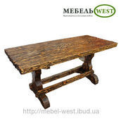 Стол под старину Охотник 75х80х120 см