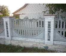 Железобетонный забор 2 м