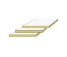 Акустическая панель IZOVAT Sound Ceiling F 1200х600х20 мм