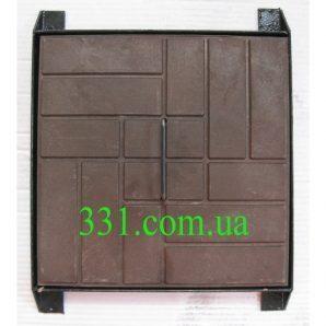 Люк-міні полімерпіщаний ЛМ (А15) 330х330х40 мм (13.08.01)