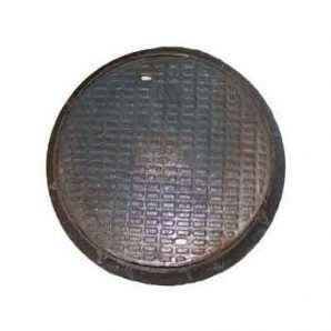 Люк чугунный канализационный средний С-Б с замком 12,5 т (2.03.2)
