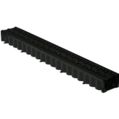 Решетка дорожная пластмассовая (ХП) 1000х310x30 мм (р604)