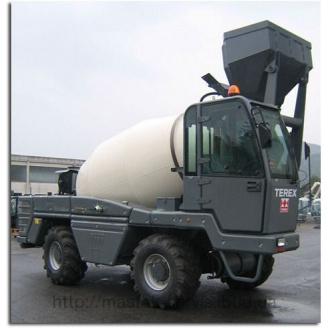 Аренда миксера для изготовления бетона Terex