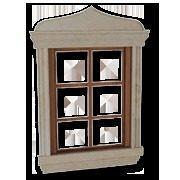 Обрамлення віконне з мармуру Crema Mare бежеве