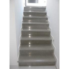 Прямая лестница из мрамора Olivia Marron