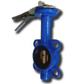 Засувка Баттерфляй для води з чавунним диском Ду 250 Ру 16