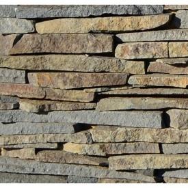 Камень андезит торец Закарпатье 1 см