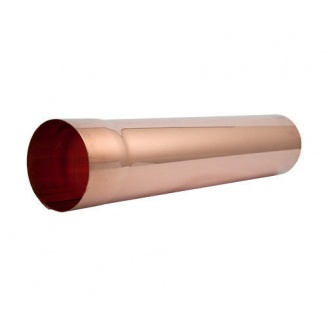 Труба водосточная АКВАСИСТЕМ медная 90 мм 3 м