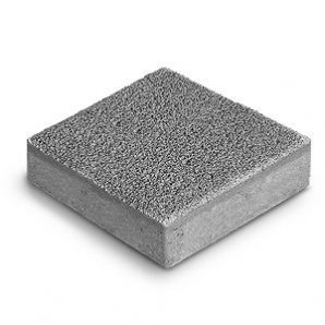 Тротуарная плитка Авеню Декор Ромб К-6 серый фьюжн 189х189х60 мм