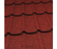 Композитная металлочерепица Gerard Diamant 1335х440 мм spanish red